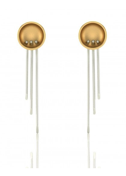 A VERSATILE GOLD EARRINGS