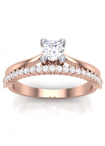 RAYNE ROSE GOLD RING