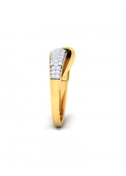 GOLDEN FLAP RING
