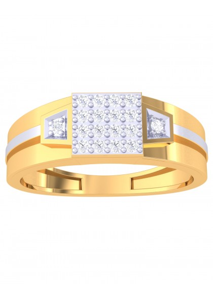 SQUARE CUT RING FOR HIM