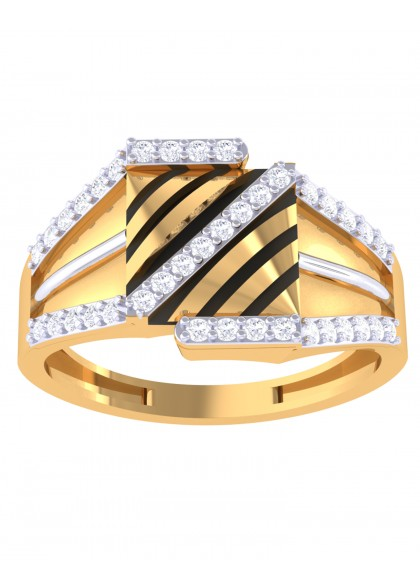 ZEBRA STRIPES RING FOR HIM