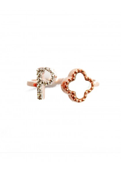CLOVER INITIAL RING