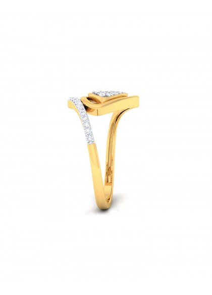 TRIGON DIAMOND RING