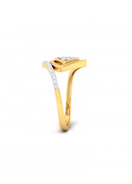 TRIGON DIAMOND RING