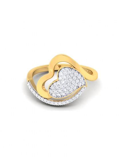 DIAMOND CRUSH RING
