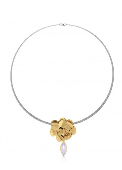 GOLD BOUQUET NECKLACE