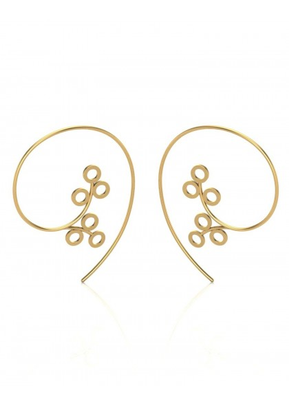 MAYFLOWER GOLD EARRINGS